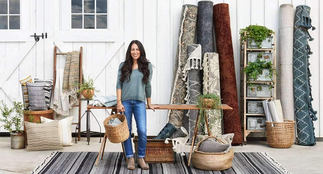 Brands: Magnolia Home for Loloi Rugs