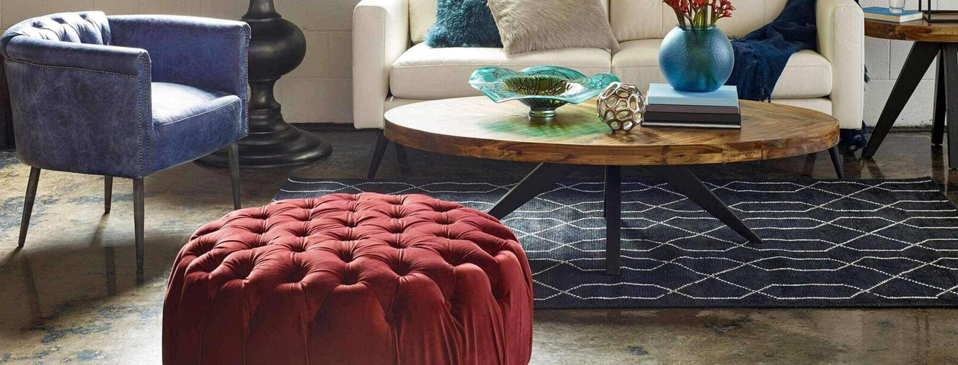 Shop Stools & Ottomans