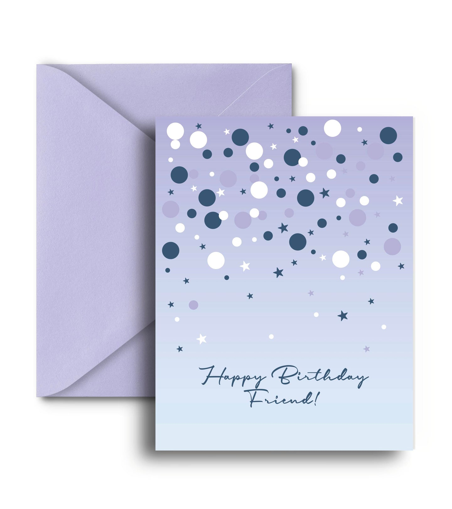 Happy Birthday Friend Greeting Card