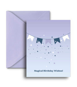 Magical Birthday Wishes Greeting Card