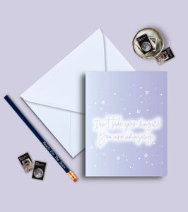 Don't Hide Your Magic, You Are Amazing Greeting Card
