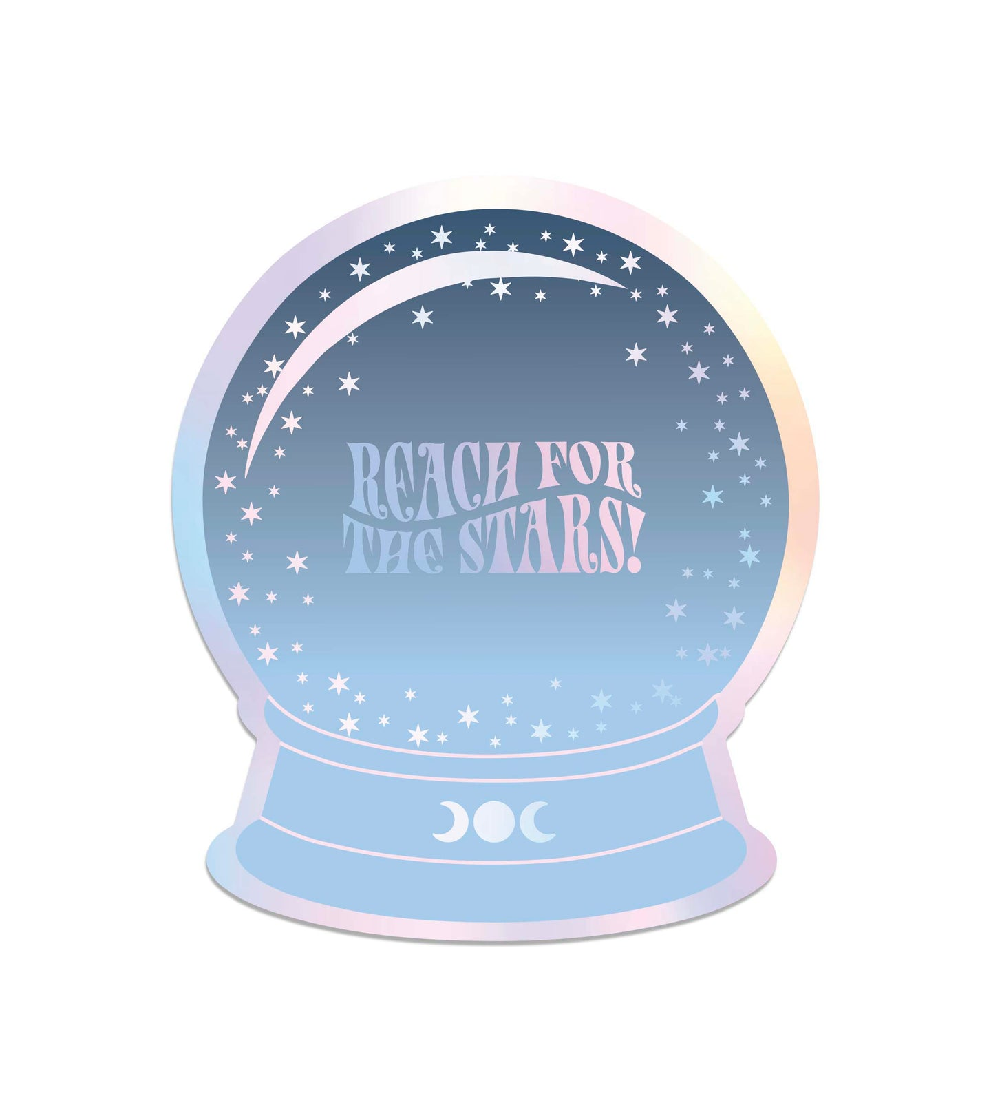Reach For The Stars Holographicst Sticker