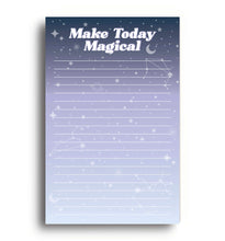 Load image into Gallery viewer, Make Today Magical Notepad