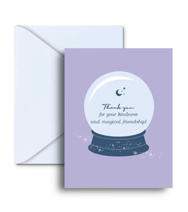 Thank You For Your Kindness And Magical Friendship Greeting Card