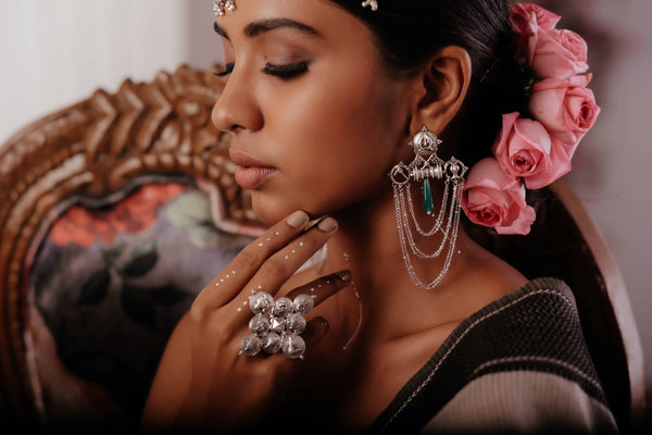 7 Tips for Styling with Luxurious Silver Jewellery by MohabyGeetanjali