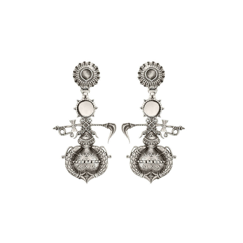 Buy Amarta Silver Earring - Big