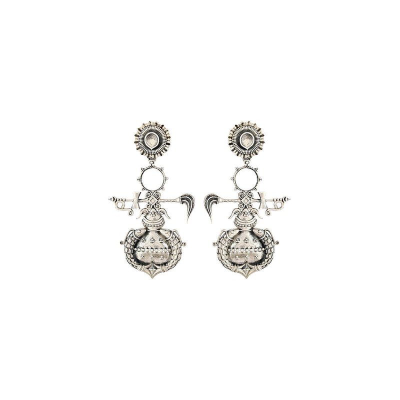 Buy Amarta Silver Earring - Small