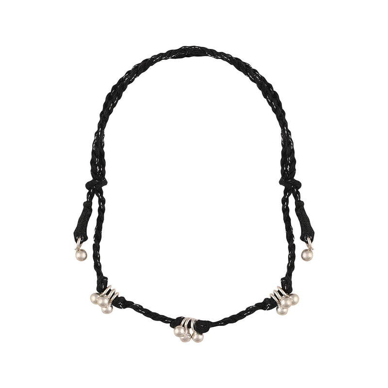 Ghungroo Anklet With Black Thread