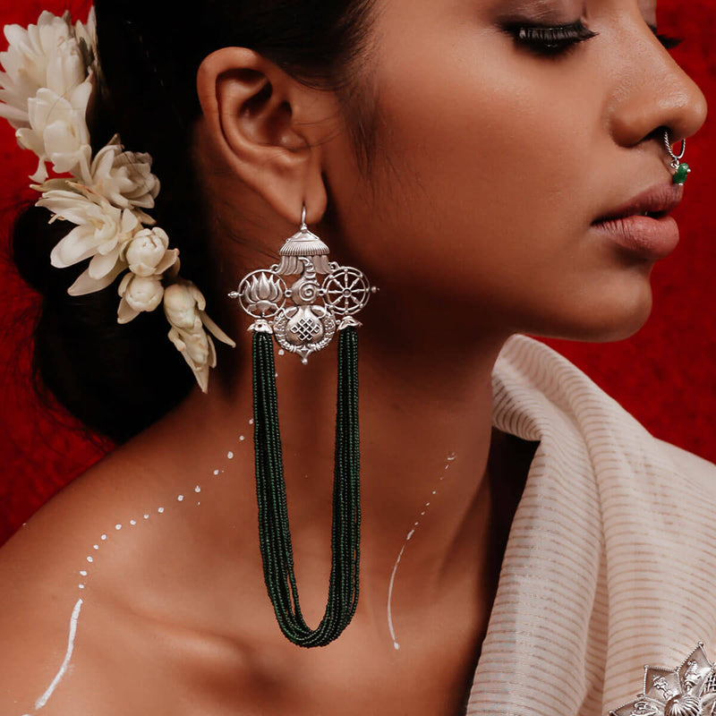 Buy Chatra Silver Earring