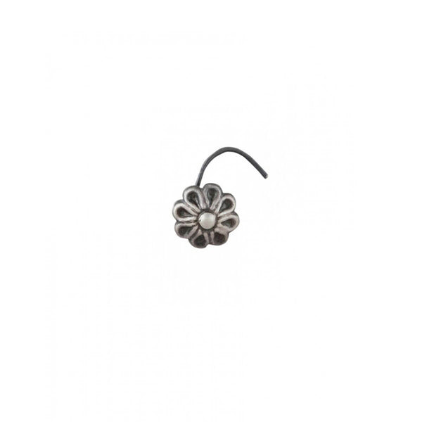 Irresistible florets silver nose pin, Piercing