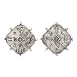Joy Silver Earrings - mohabygeetanjali