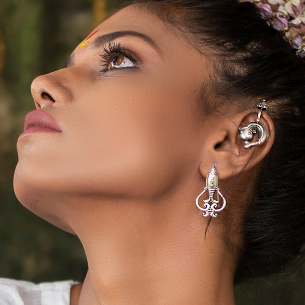 Buy Mahir Silver Earrings
