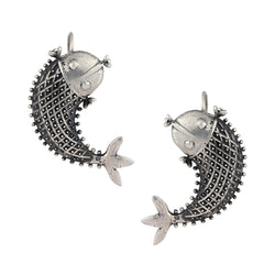 Buy Masoli Silver Earrings