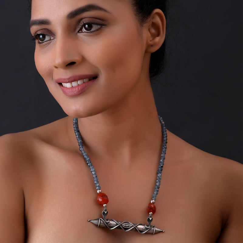 Buy Naag Chaitanya Pendant Necklace With Stone Online