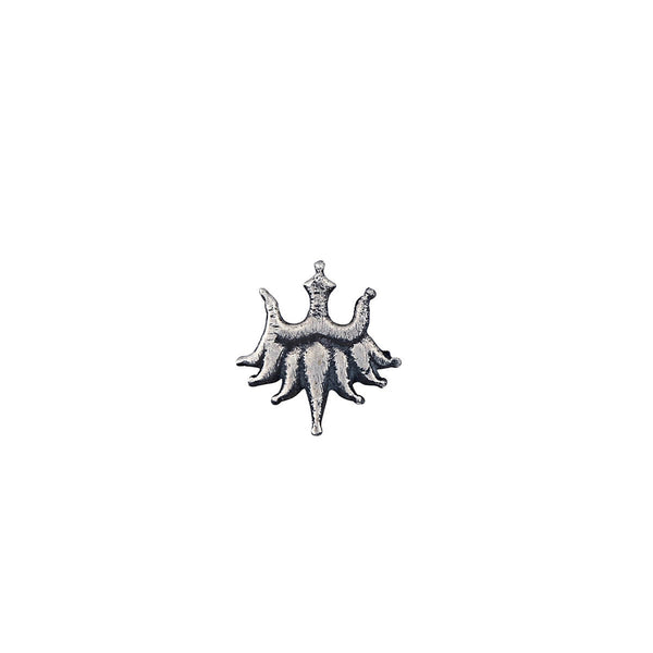 Urja Silver Nose Pin - Clip On - mohabygeetanjali
