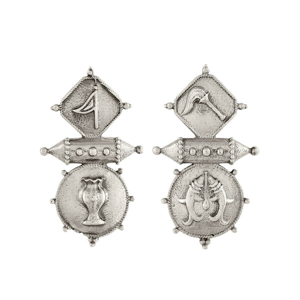 Buy Vajra Silver Earring