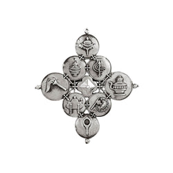 Wheel of Joy Silver Ring - mohabygeetanjali