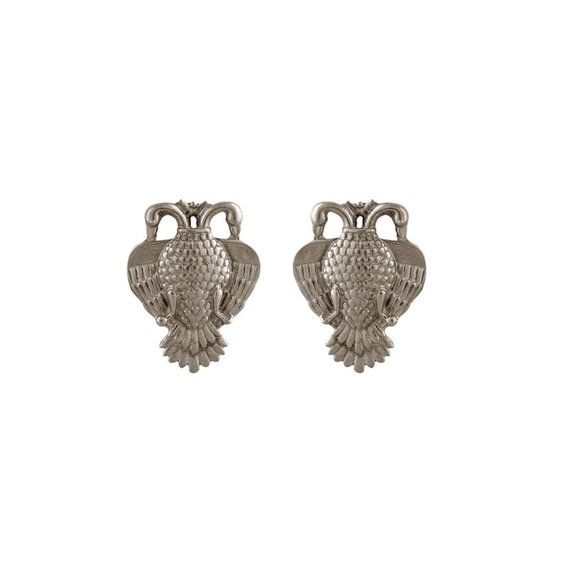 Buy Aras Silver Earrings