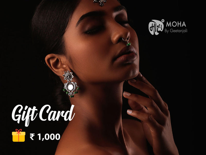 Moha Gift Card - Rs. 1,000