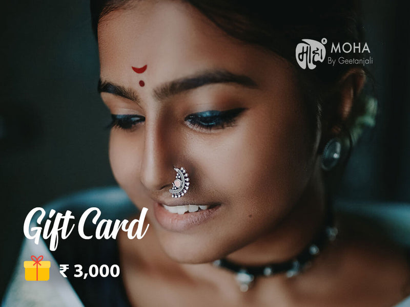 Moha Gift Card - Rs. 3,000