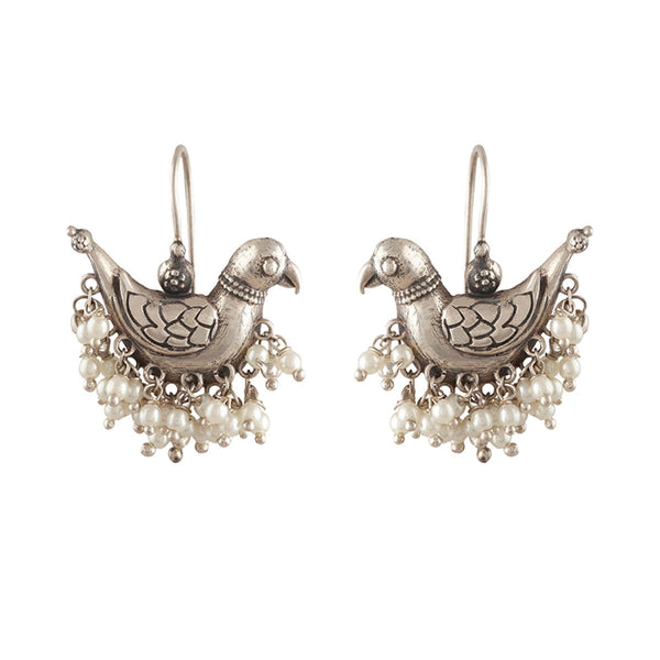 Shuk Sarika Silver Earrings