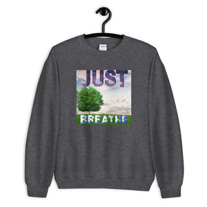 Sweatshirt - Just Breathe (Nature Edition)
