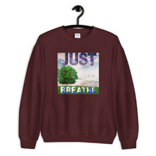 Load image into Gallery viewer, Sweatshirt - Just Breathe (Nature Edition)