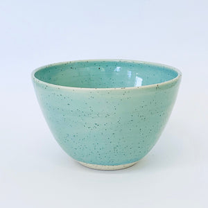 007. Bowl Robin egg blue light speckle