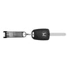 BladeKey Bolt 6 Regular Black with Modern Car Key