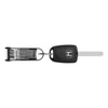 BladeKey Bolt 9 Regular Black with Modern Car Key