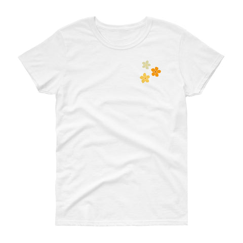 Puakenikeni Flower Pocket T-shirt (Women)