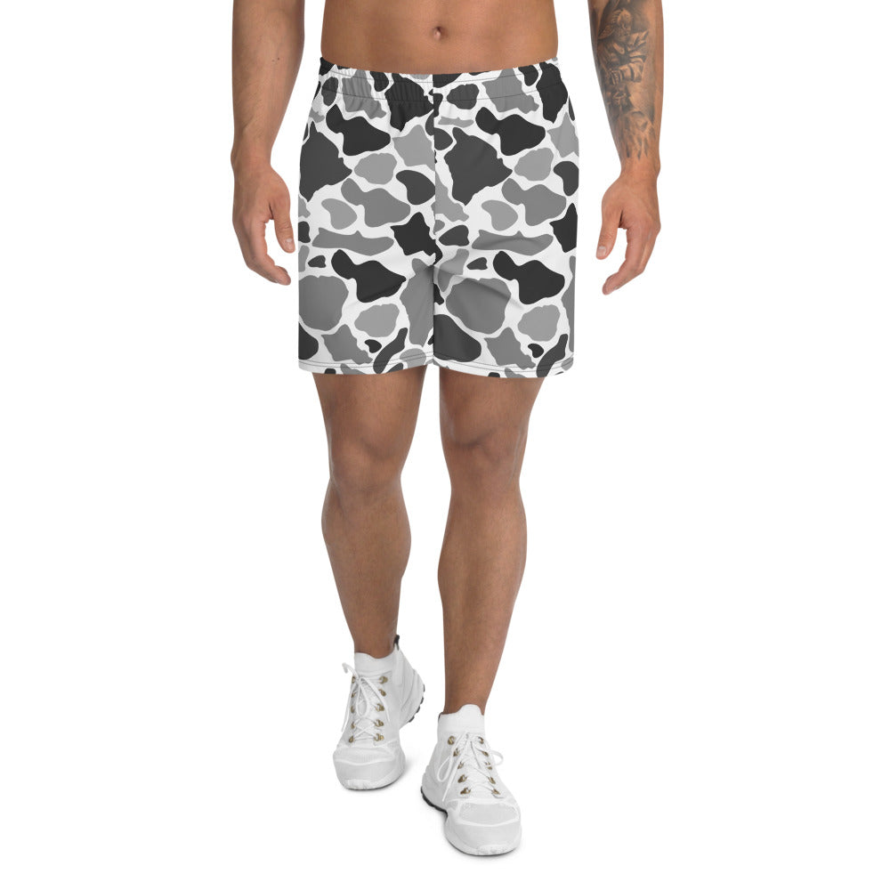 Island Camo Athletic Shorts (Mens)