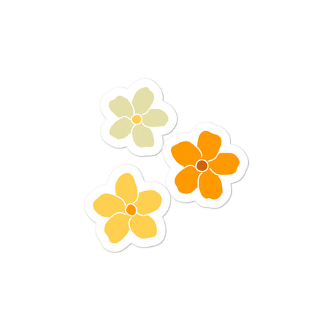 Puakenikeni Flower Stickers