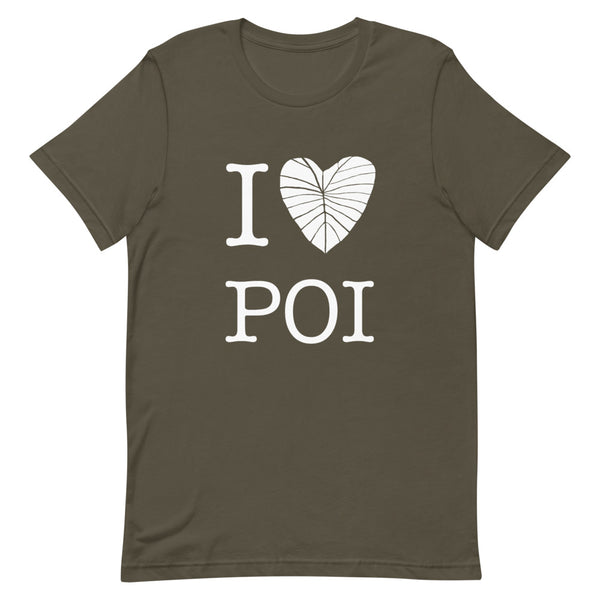 I Love Poi T-shirt (Unisex)