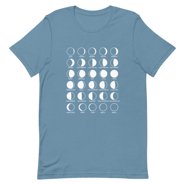 Hawaiian Moon Phases T-shirt (Unisex)