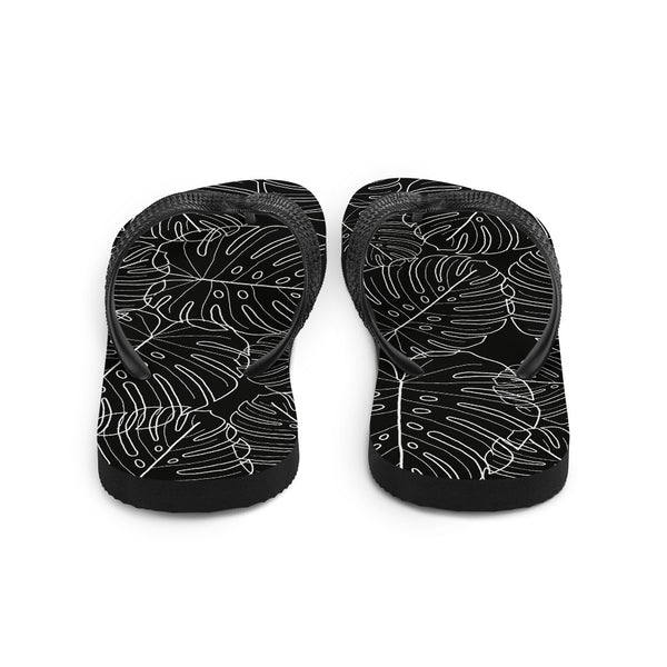 Monstera Slippers (Unisex)