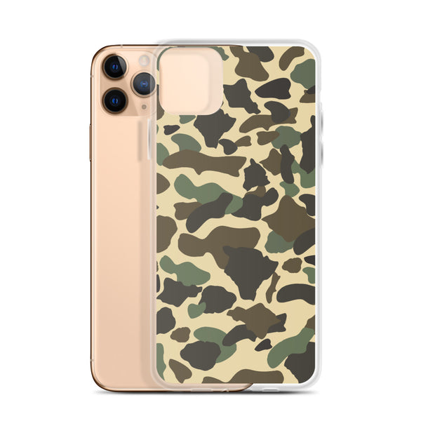Neutral Island Camouflage iPhone Case