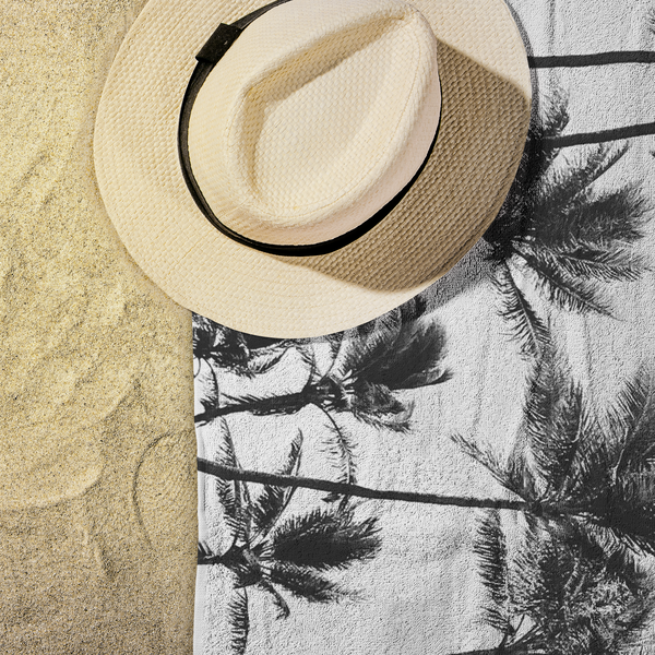 Coconut Tree - Niu Beach Towel