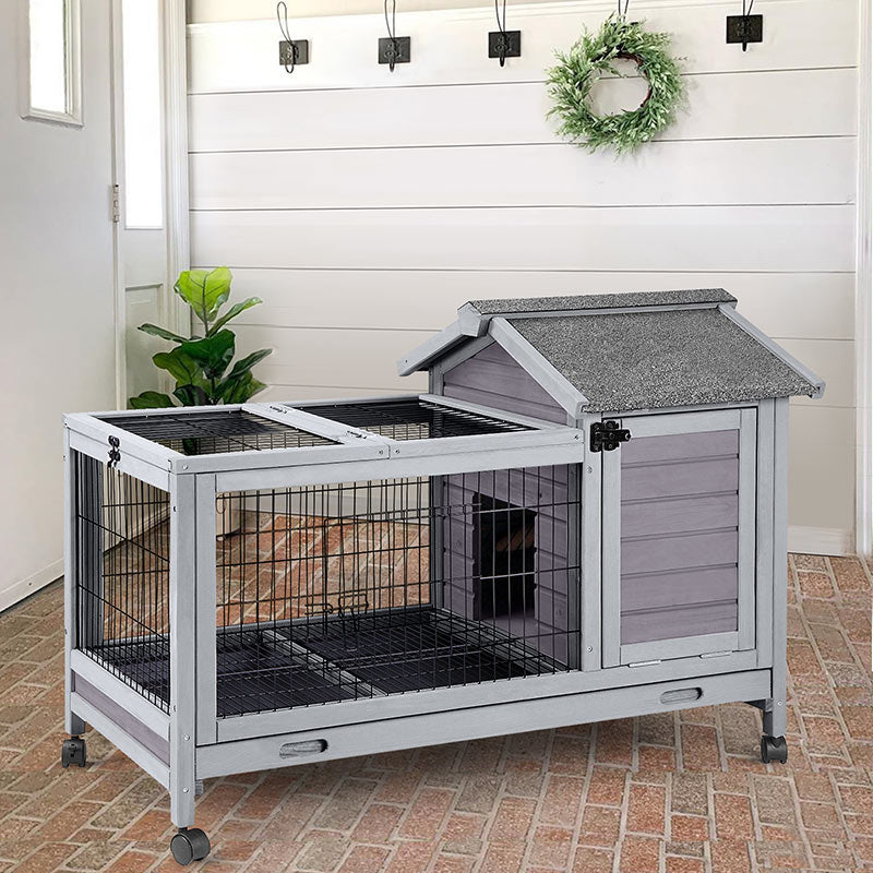outdoorRabbit Hutch
