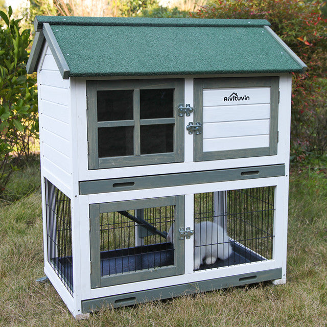 outdoor bunny cages