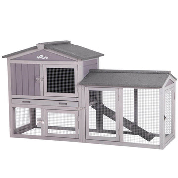 Expandable Chicken Coop, Easy Combine With Second House- AIR002 (Inner space 10.4 ft²)