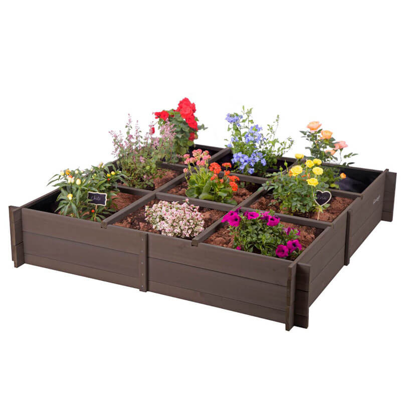 cheap raised garden beds