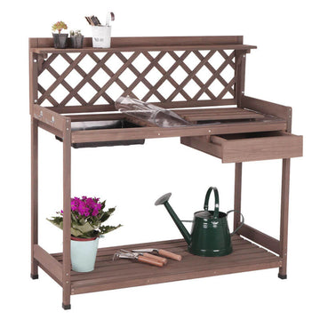 potting bench lowes