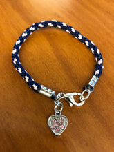 Load image into Gallery viewer, Kumihimo Charm Bracelets Size 6.5""