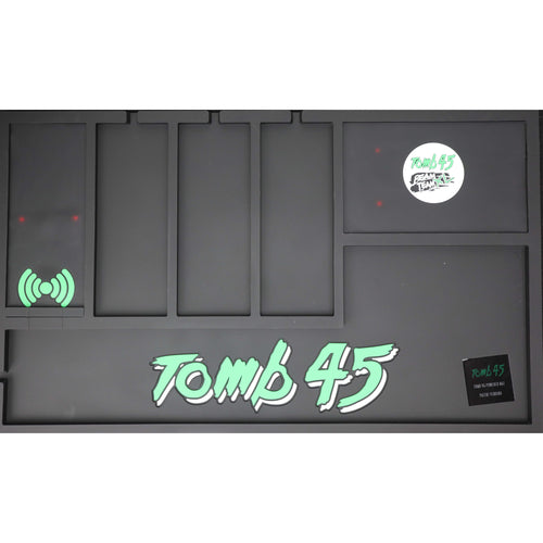 The Tomb45 PoweredMat Wireless charging organizing mat