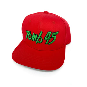 Tomb45 Logo Snapback Hat - Graffiti Bill