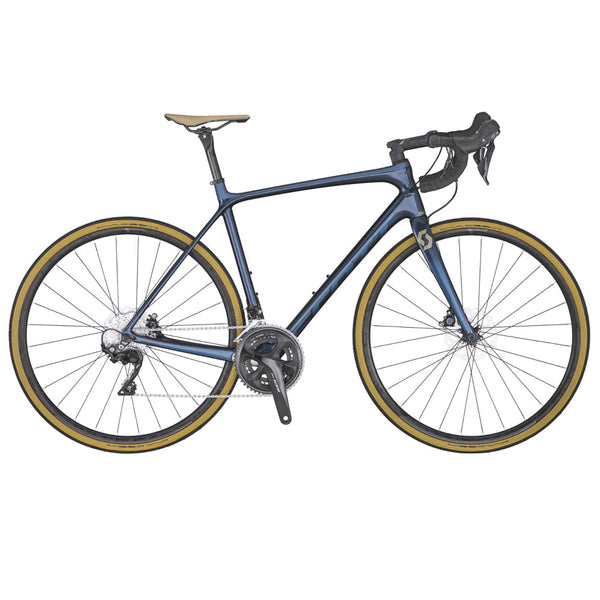 SCOTT ADDICT 20 DISC DARK BLUE BIKE