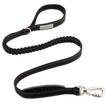Load image into Gallery viewer, DF Co. Black Bungee Dog Leash