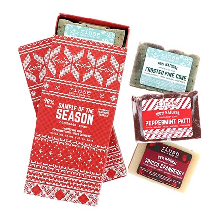 Sample of the Season Soap Box (3 bars)
