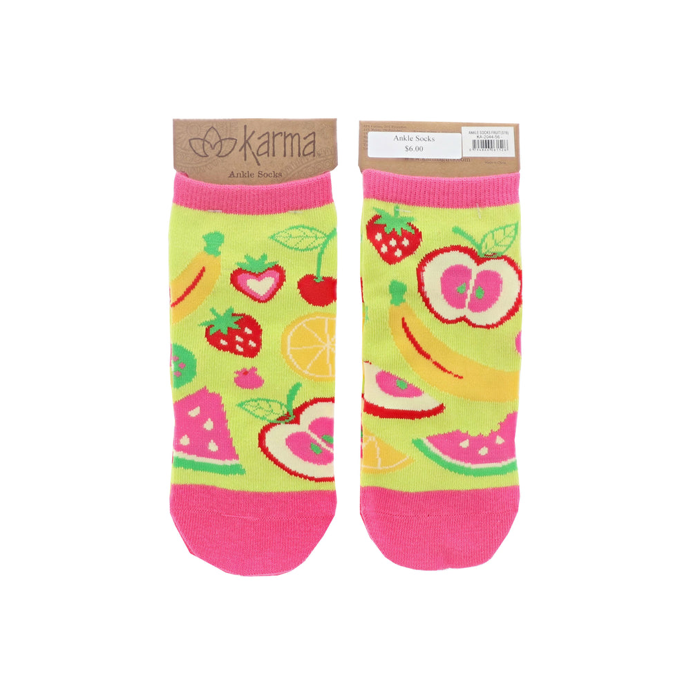 Fruity Ankle Socks
